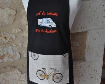 Camper apron Pocket Bike