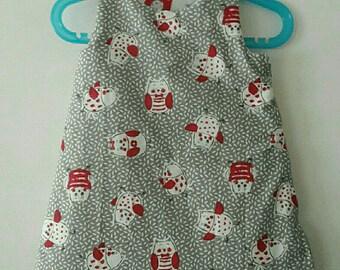 personalized birthstone in sleeping bag