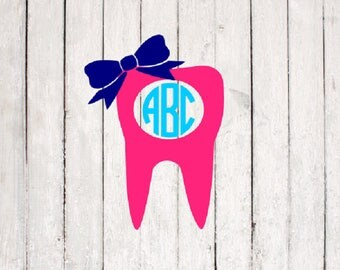 Tooth SVG | Tooth Cut File | Silhouette Files | Cricut Files | SVG Cut Files | PNG Files