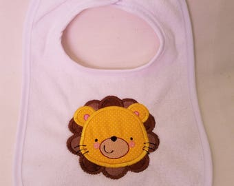 Little Lion baby bib