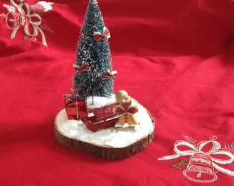 Table centerpiece, Christmas decoration: Ginger bread