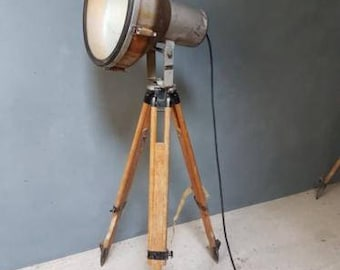 Industrial lamps on Tripod