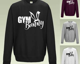 Gym Bunny Sweatshirt - Cute Jumper JH030