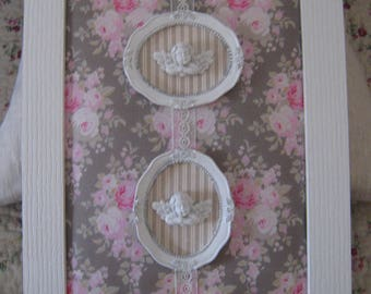"Adorable romantic shabby spirit ""Angels"""