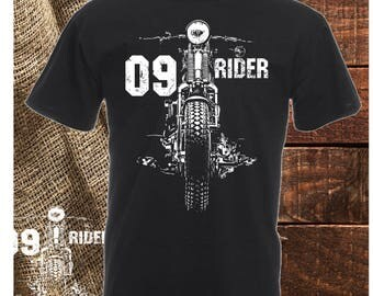 T-shirt 09 Motorcycle rider