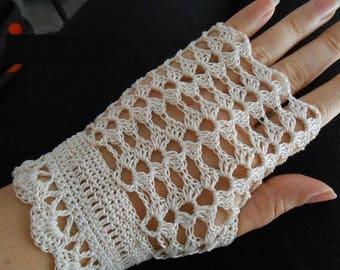 Cotton mittens