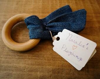 Organic Wood Teething Ring