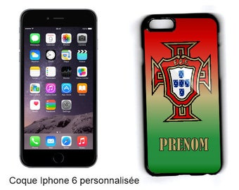 "CASE hard IPHONE 6 / 6 S/7 ""portugal"" customized"