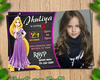 Rapunzel birthday, Rapunzel invitation, Rapunzel invites, Rapunzel party, Rapunzel printable, tangled invite