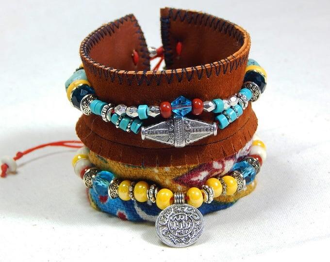 Featured listing image: Aztec Cuff Bracelet