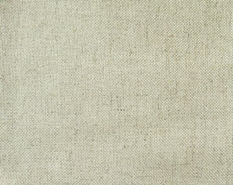 Coupon 40 x 40 linen 14 son canvas Floba superfine Zweigart