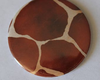 Giraffe pattern Pocket mirrors