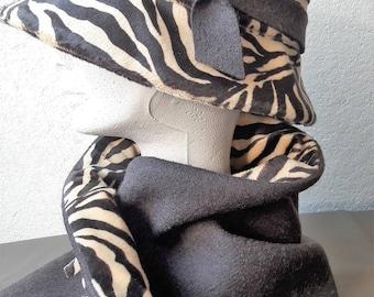 Hat Zebra and chocolate