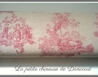 From Mas D'ousvan Sévigné red chambray fabrics