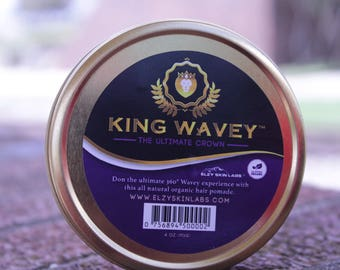 Elzy Skin Labs 360 Wave Pomade for Natural Hair with Sheabutter