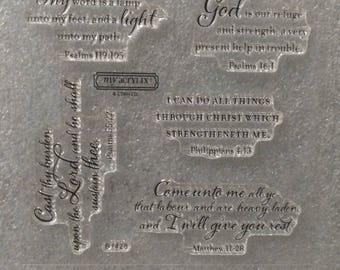 CTMH B1428 Look to the Light Acrylic Stamp Set