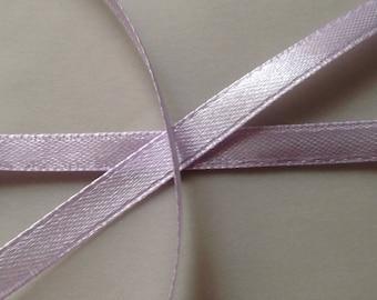 5 / 22 m 6mm lilac purple satin ribbon set