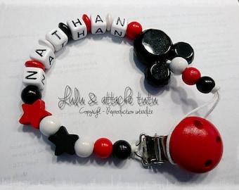 custom tutu white black red mickey stars tie
