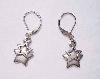 "Earrings ""Stars at night"""