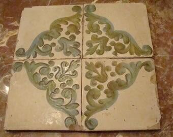 Ancient Valencian tiles. 19TH CENTURY
