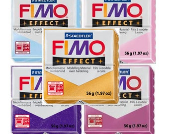 Fimo Soft oven bake polymer clay, 56g bar