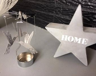 Merry-go-round Hummingbird candle