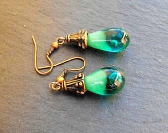 BCL.2512 Murano glass earrings
