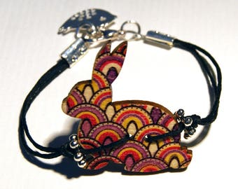 Rabbit bracelet original seventies