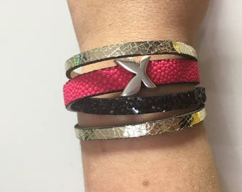 Cuff Bracelet for women size 19.5 cm