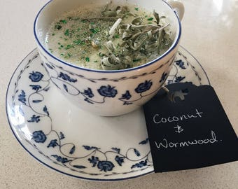 Coconut and Wormwood Soy Candle