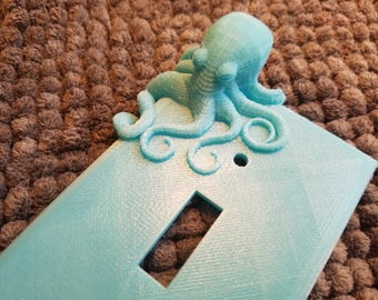 Octopus Light Switch Plate