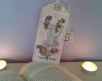 Strapless vintage style bookmark