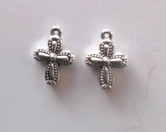 6 charms for creating jewelry cross ref. 45