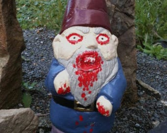 Walking Zombie Gnome