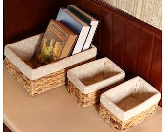 Natural Calabash Grass Basket
