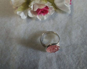 Cabochon Adjustable ring