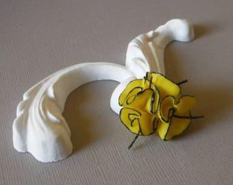Corolla yellow and black flower