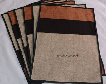 hand woven cotton placemats