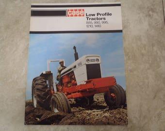 Case Low Profile Tractor Literature