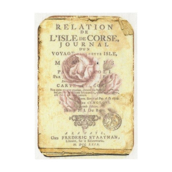 """Applied fusible - Collection """"Old Rose"""" AT406-6"""