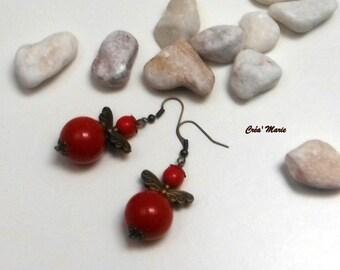 Christmas Bo154 Angel earrings