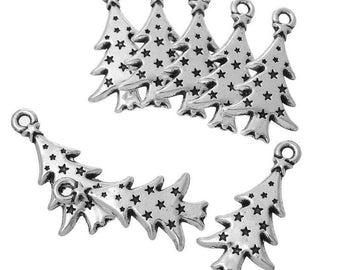 20 Christmas tree Christmas gift under 15 days charm pendants