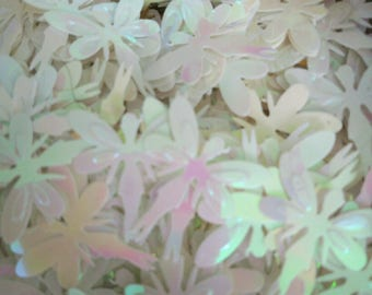 Set of 20 glitter sequin fairy 18 x 20 mm scrapbooking
