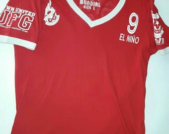 FOOTBALL T-Shirt (red) size L