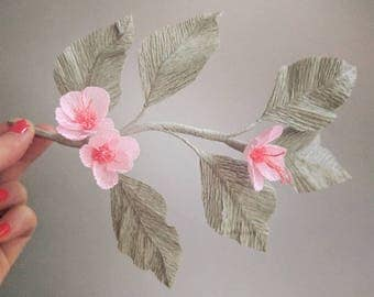 handmade crepe paper blossom | by organigami