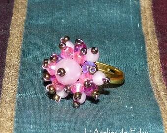 Pink ring small Hedgehog model