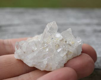 Arkansas Quartz Crystal Cluster - For Crystal Healing, Energy Amplification