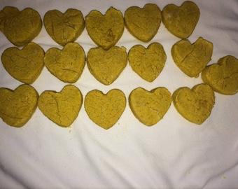 Organic Pumpkin Peanut Butter Biscuits
