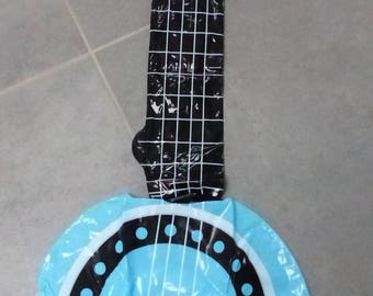 BANJO inflatable party decor teen child musical instrument