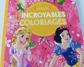 amazing coloring princesses and Disney fairy workshops